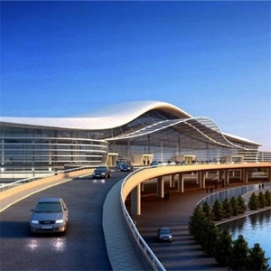 烟台新建潮水机场航站楼工程