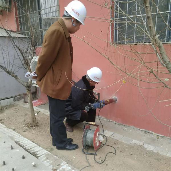 钻芯法建筑节能材料检测