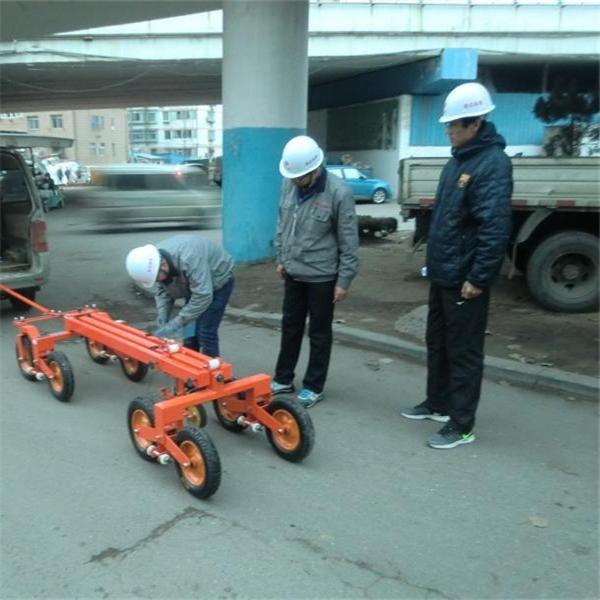 公路路面平整度检测