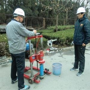 烟台钻芯法检测路面厚度